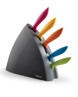 Schafer 6 Pieces Knife set Colored- 04942