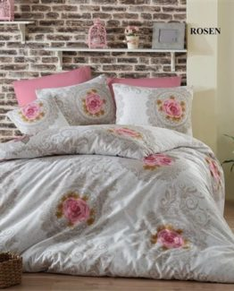 Minteks double  Duvet Cover Set  Rosen