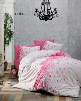 Minteks Ranforce Single Duvet Cover Set  Alice