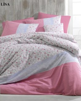 Minteks Ranforce Single Duvet Cover Set  Lisa