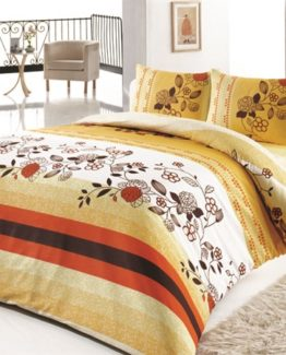 Baysal double  Duvet Cover Set  Viona Yellow