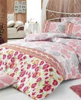 Baysal double  Duvet Cover Set  Roseday Pink