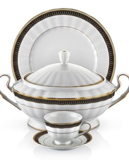 Schafer 86 Pieces Welle Collection Dinner set SHF-15001