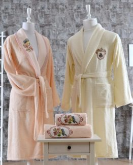 Minteks CanvasBathrobe set (İva)