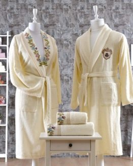 Minteks CanvasBathrobe set (Karina)