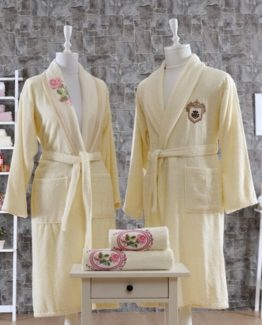 Minteks CanvasBathrobe set (Nina)