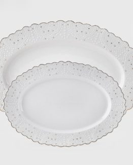 Schafer Frau Shick Boat Plate 2 Pieces (92053)