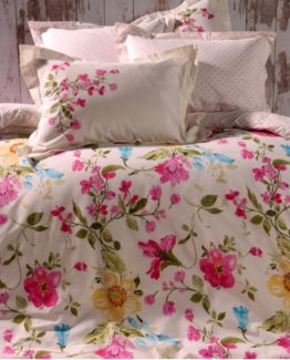 Soley Single Ranforce Duvet Cover Set - Bayla Lila