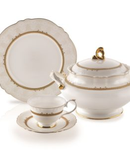 Schafer 87 Pieces Caroline Dinner set 29540