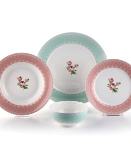 Schafer Flower 24 Pieces Dinner set (29519)