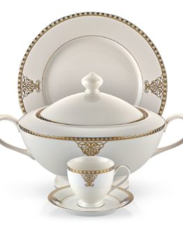 Schafer 87 Blume Collection Fine Bone Dinner set SHF-16004