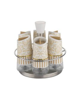Schafer Nesting 7 Pieces Spice Set (GLD05)