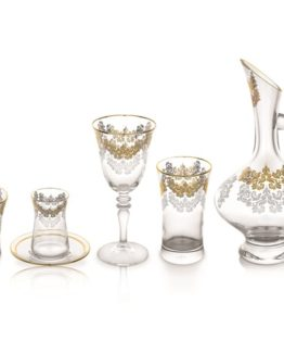 Schafer 61 Pieces Swan Glass set(ALT02)