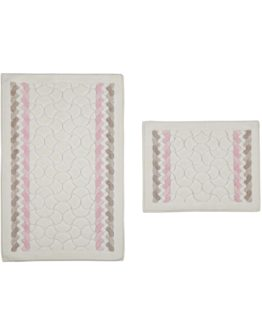 Minteks Colored  Cotton 2`li Closet Set -Olimpos brouwn-Pink