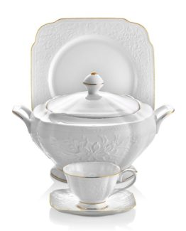 Schafer 87 Dantella Elegantia Collection Fine Bone Dinner set SHF-12008