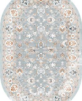 Brillant Latex Carpet Sarmaşık Oval 150x230 HLE11310.804 (FRINGED)