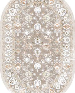 Brillant Latex Carpet Sarmaşık Oval 150x230 HLE11310.803 (FRINGED)