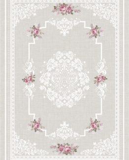 Brillant Latex Carpet Garden 130x190 HL11172.102 (FRINGED)