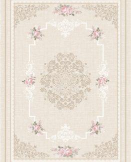 Brillant Latex Carpet Garden 130x190 HL11172.104 (FRINGED)