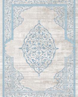 Brillant Latex Carpet Firuze 80x150 HL11174.101 (FRINGED)