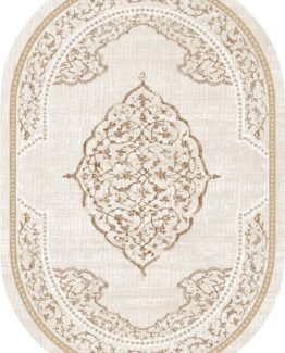 Brillant Latex Carpet Firuze Oval 150x230 HLE11314.802 (FRINGED)