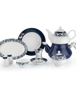 Schafer 31 Pieces In-Glaze Brillant Breakfast set (XXX01)