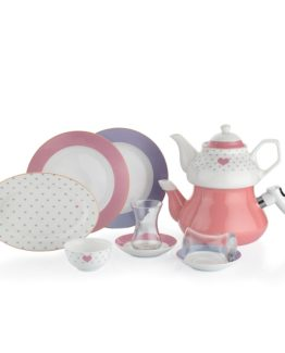 Schafer 31 Pieces In-Glaze Brillant Breakfast set (XXX02)