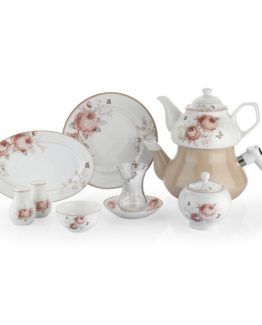Schafer 31 Pieces In-Glaze Brillant Breakfast set (XXX04)
