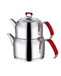 Aksu Nar-ı Dem Middle Kettles - Red