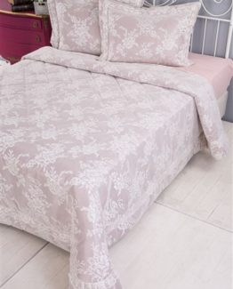 Soley SelectionBed Covered Melinda Plum