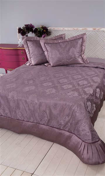Soley SelectionBed Covered Serena Plum