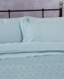 Soley double  Selection the Piquel Duvet Cover Set  Jasmine Su Greeni