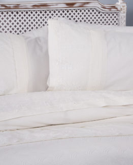 Soley double  Selection the Piquel Duvet Cover Set  Ada Cream - Cream