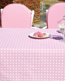 Soley GardenTable set- Puantiye Pink