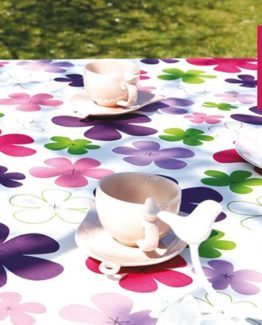 Soley GardenTable set- Papatya fuchsia