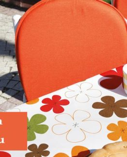 Soley GardenTable set- Papatya Orange