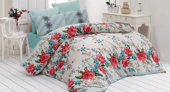 Belenay double  Duvet Cover Set  - Yasmin Mint