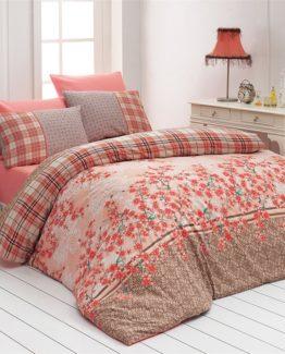 Belenay double  Duvet Cover Set  - Sakura Mercan