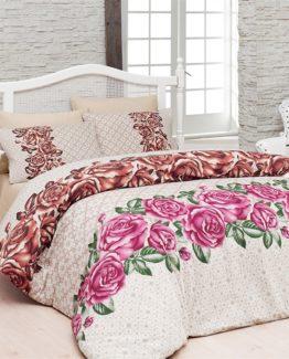 Belenay double  Duvet Cover Set  - Rose`s rose