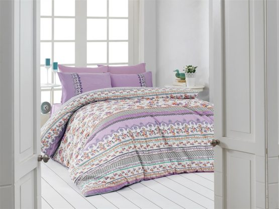 Belenay Single Sleep set - Pıtırcık Lila