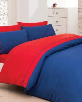 Belenay double  Natura Duvet Cover Set  - Navy blue