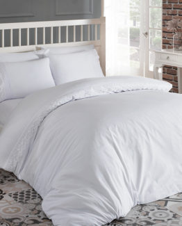Belenay double  Akfil Duvet Cover Set  Rüya White