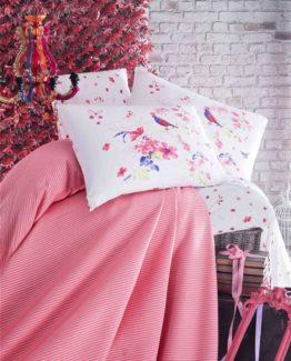 Evim Home Single luxury boxed Pike Set  - Anka Pomegranate flower
