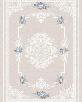 Brillant Leke does not keep Silk Carpet 90x160 Garden HJ11608.803 (FRINGED)
