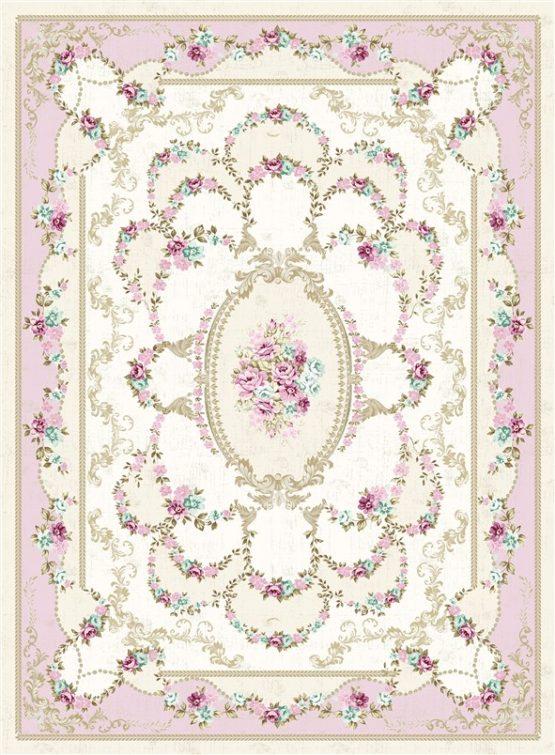 Brillant Leke does not keep Silk Carpet 90x160 Poyraz HJ11759.802 (FRINGED)