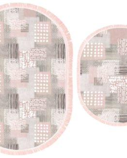 Brillant 2`li Silk Paspas Set  Daniel BPS11521.802 (FRINGED)
