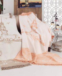 Aksu Cotton Blanket 150x200 boxed - Boğaziçi Rock