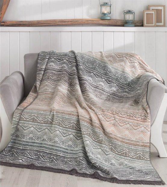 Aksu Cotton Blanket 150x200 boxed - Luz