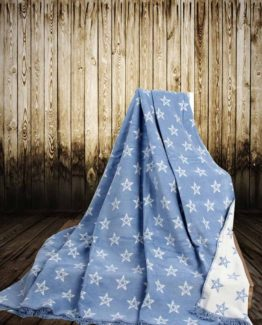 Aksu Cotton Blanket 150x200 boxed - Starry Blue