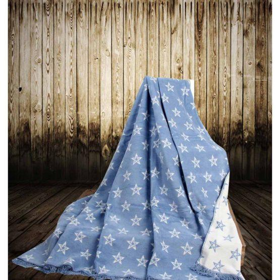 Aksu Cotton Blanket 150x200 boxed - Starry Blue